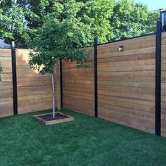 Front Yard Landscaping Discover Slipfence in. Black Aluminum Fence - The Home Depot Slipfence in. Black Aluminum Fence - The Home Depot Diy Backyard Fence, Landscaping Along Fence, Diy Fence, Backyard Landscaping, Diy Backyard Projects, Fenced In Backyard Ideas, Landscaping Ideas, Fence Art, Nice Backyard
