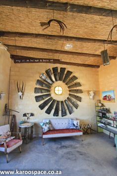 The Tankwa Padstal between Ceres and Calvinia in the Northern Cape Karoo desert of South Africa has become a road tripping legend. Coffee Shop Signs, Windmill, South Africa, Fall, Shop Ideas, Farm House, Interior Ideas, Beautiful, Art Ideas