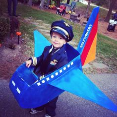 Southwest Pilot Costume!