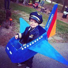 Southwest Pilot Costume!