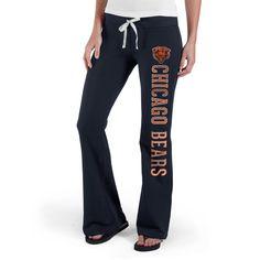 '47 Brand Chicago Bears Womens Navy Pep Rally Pants