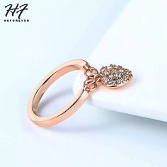 Flight Tracker Send Box Hot Fashion Classic Inlaid Zircon Ring 925 Silver Good Quality Flower Pattern Design Love Festive Gifts # 101 Jewelry & Accessories
