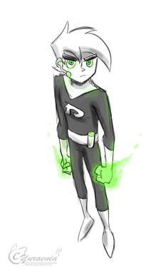 """qookyquiche: """" Sorry, couldn't resist posting another Danny Phantom doodle (I made a whole slew of these over the course of a week.Danny look """" Nickelodeon Shows, Nickelodeon Cartoons, Old Cartoons, Fantasma Danny, American Dragon, Randy Cunningham, Ghost Boy, Phantom 3, Fan Art"""