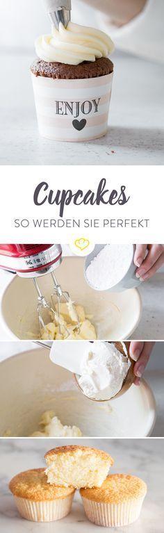 Doch wie muss er sein, der perfekte Cupcake? Welcher Teig ist der Perfekte und was ist eigentlich ein Frosting? Ich bin der süßen Sache mal auf den Grund gegangen.