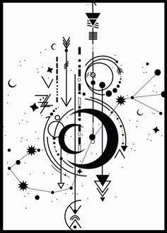 Printable 300 dpi JPEG files and 1 PNG file. - my favorites- Printable minimalist wall art.Printable 300 dpi JPEG files and 1 PNG file. Compass Tattoo, Arm Tattoo, Sleeve Tattoos, Compass Art, Tiny Tattoo, Mehndi Designs, Tattoo Designs, Tattoo Ideas, Geometric Tattoo Design