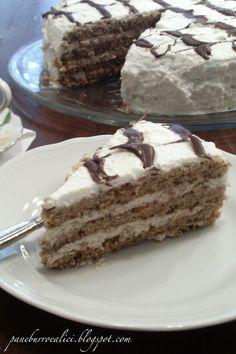 torta al caffè e panna!