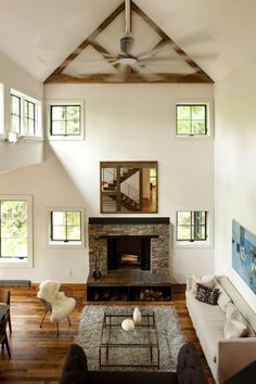 House Is Beautiful Blend Of Rustic  Refined