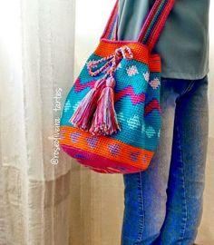 Tecendo Artes em Crochet: Minha Bolsa Wayuu Com Gráficos e Receita no site da Círculo!