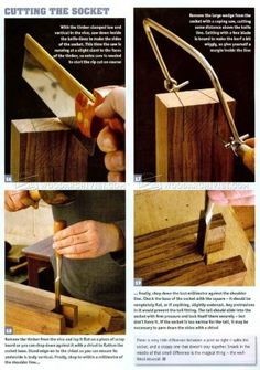 #1554 Large Dovetail Joints - Joinery Tips, Jigs and Techniques