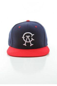 Ambiguous Clothing CA Team Snapback Hat - Navy $26.00