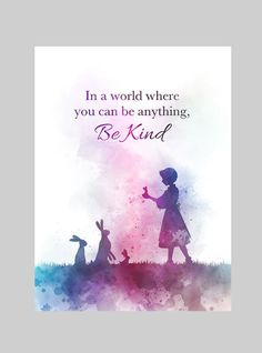 Always be kind to people no matter what. Don't be bad things if not, karma will come to you. Art Prints Quotes, Art Quotes, Motivational Quotes, Inspirational Quotes, Quote Art, Love Rain Quotes, Be Kind Quotes, Deer Quotes, Disney Princess Quotes