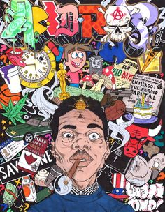 """""""ACID RAP"""" inspired by Chance The Rapper's Mixtape under the same title.. If you listen, you'll see everything in it ©2013 KRAZE.ONE originals"""