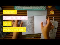 ACTUALLY Plan With Me! | Planning A Busy Productive Week In Your Bullet Journal | Edie's Big Plans