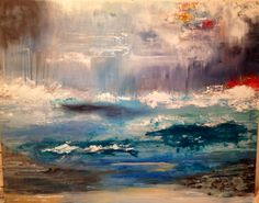 Island in the Storm- original Laura Wilson