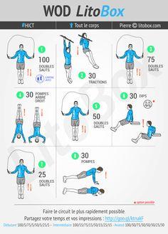 Circuit pour tout le corps réalisable en moins de 15 minutes. + Pensez à partager ce WOD ou à tagger vos amis pour les motiver à s'entraîner et les challenger. Bon week-end ! Pierre.