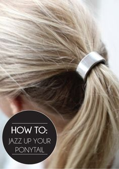 Take your classic ponytail from drab to fab with these fun hair accessories!