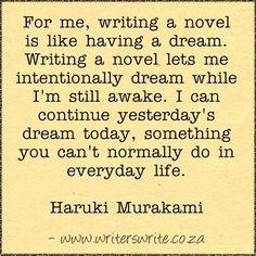 Quotable - Haruki Murakami