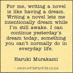 Quotable - Haruki Murakami - Writers Write Creative Blog