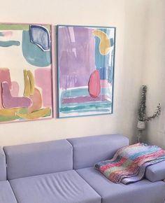 Pastel Room, Pastel House, Room Ideas Bedroom, Bedroom Decor, Indie Room, Cute Room Decor, Aesthetic Room Decor, House Rooms, Room Inspiration