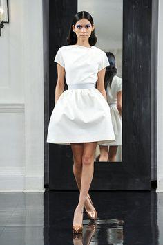 Lovely! Victoria Beckham 2011 Fashion show.