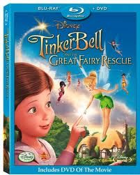 """""""TinkerBell - The Great Fairy Rescue"""" the last in the series of three and my favorite."""