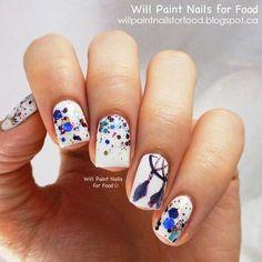 adorable [dream catcher nail art]