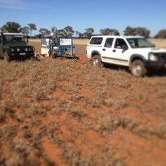 Rainfall Simulations in Condobolin, out in the field