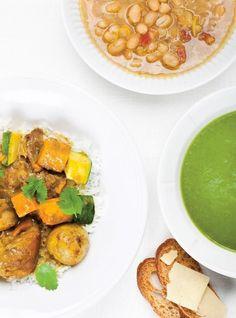 Ricardo& recipe Cream of Celery and Spinach Soup Healthy Detox, Healthy Soup, Healthy Snacks, Healthy Eating, Healthy Recipes, Superfood Recipes, Healthy Smoothies, Easy Recipes, Cream Of Celery