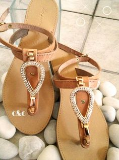 9ad9953802a34b leather sandal with gold in crystals Summer Of Love