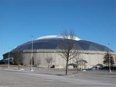 UNI Dome - Home of the University of Northern Iowa Panthers, Cedar Falls, Iowa