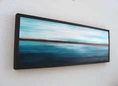 Wood Wall Art  Painted Wood Sculpture  by ModernRusticArt on Etsy, $285.00