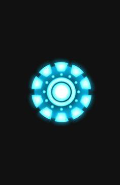 Arc Reactor [Iron Man] Throw Pillow