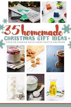 35 HOMEMADE CHRISTMAS GIFT IDEASFollow for recipesGet your Mein Blog: Alles rund um die Themen Genuss & Geschmack Kochen Backen Braten Vorspeisen Hauptgerichte und Desserts # Hashtag