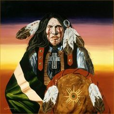 ✯ The Chief .. Artist Rick Timmons ✯