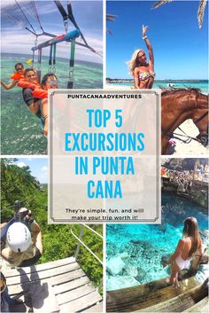 There are numerous excursions in Punta Cana to choose from. Immerse yourself in Dominican culture and explore country's tropical wonders. Punta Cana Excursions, Punta Cana Vacations, Punta Cana Beach, Punta Cana Wedding, Caribbean Vacations, Sosua, Samana, Dreams Punta Cana, Vacation Spots