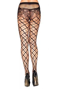 Trellis Net Pantyhose