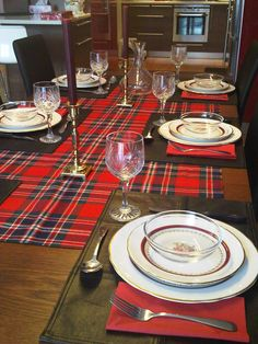 Burns dinner table from 2011. Something similar for this year?