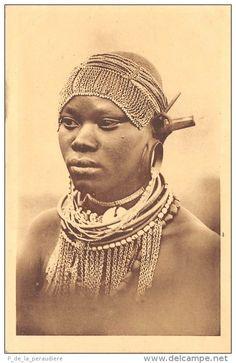 KENYA Kikuyu Maiden Phototype  L.Bauer, Dijon
