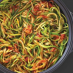 Easy+Zucchini+Linguine+-+The+Pampered+Chef®