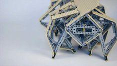 Lego Rhinoceros Strandbeest - side view walking - Theo Jansen