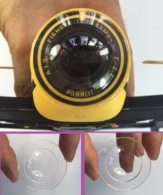 Cover Case Dust Guard Shield For Parrot Bebop Drone 3.0 Part Camera