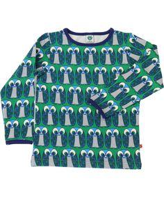 Småfolk leuke groene t-shirt met wijze uilen #emilea