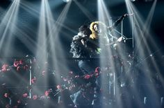 Lady Gaga Photos Photos: Lady Gaga Live At Roseland Ballroom - March 2014 Lady Gaga Live, Roseland Ballroom, Lady Gaga Photos, Singing The National Anthem, Darth Vader, Concert, March, Concerts, Mac