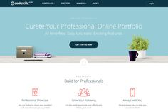 Create Free Online Portfolio Websites