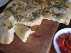 Whip up some focaccia bread. Rosemary olive oil and salt....