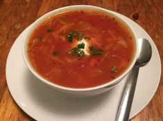 Spiced Cabbage Soup – syn free and super speedy!