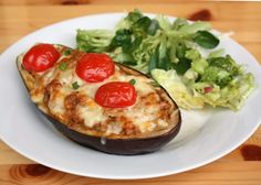 Delena, Baked Potato, Quiche, Ham, Nom Nom, Detox, Food And Drink, Low Carb, Healthy Recipes
