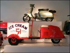 Cushman Three Wheel Scooter
