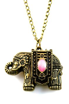 Good Luck Elephant Necklace <3