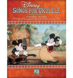Disney Songs for Ukulele- I want this!